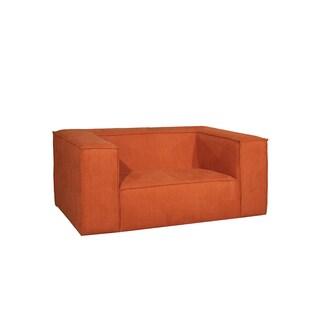 Milano Orange Arm Chair