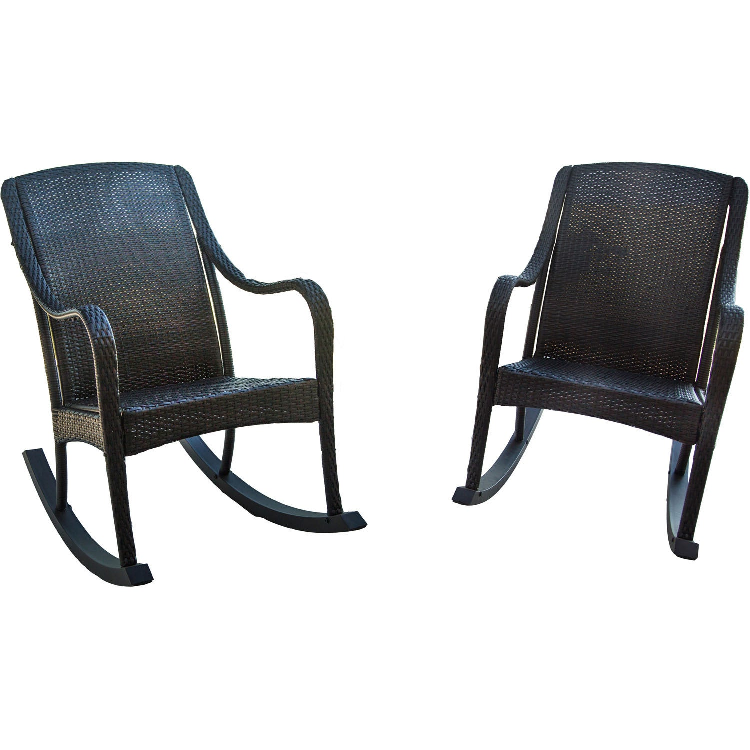 Hanover Outdoor Orleans Brown 2-piece Rocking Chair Set (...