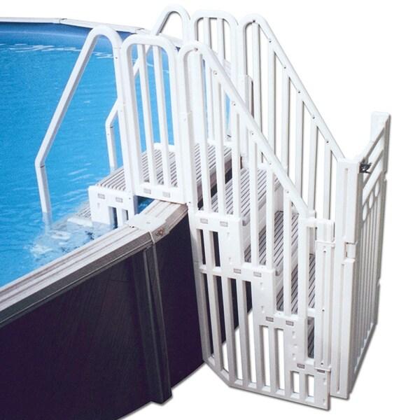 Confer Above-ground Pool Step Enclosure Kit