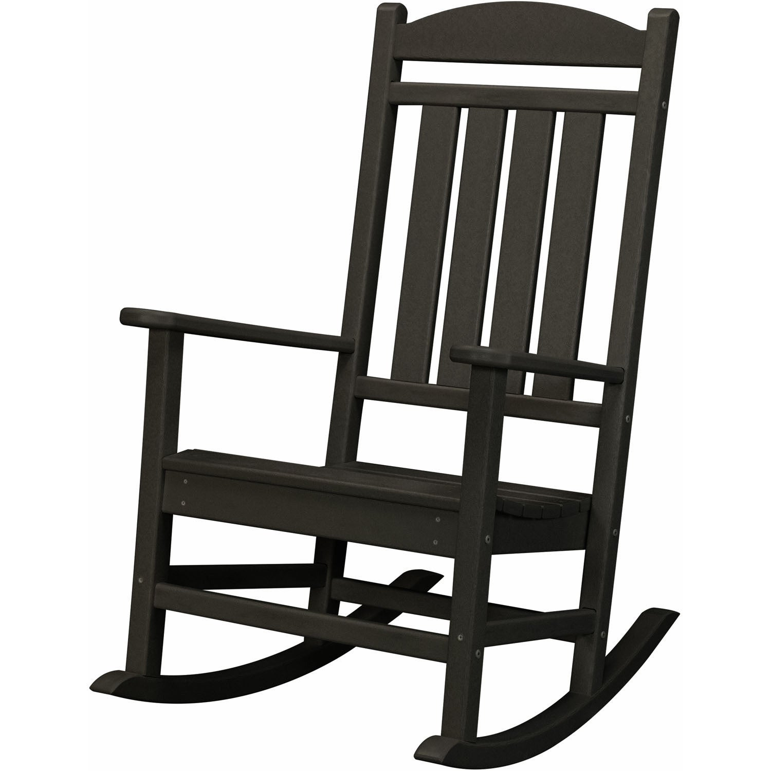 Hanover Pineapple Cay Black Outdoor All-weather Porch Roc...