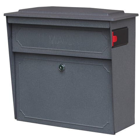 Townhouse MailBoss Wall-mount Locking Security Mailbox