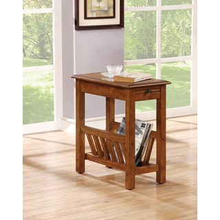 Jayme Tobacco-brown MDF Side Table