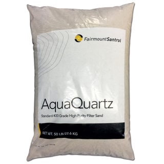AquaQuartz #20 Grade Silica Pool Filter Sand (50 Pounds)