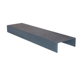 Mail Boss 2-box Grey Galvanized Steel Spreader Bar