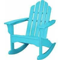 Hanover Outdoor HVLNR10AR Aruba All-weather Adirondack Rocking Chair
