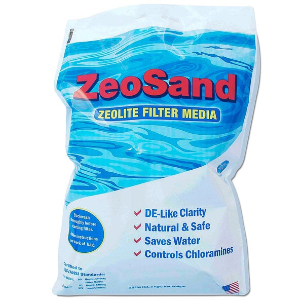 ZeoSand 50-pound Alternative Pool Sand Filter Media