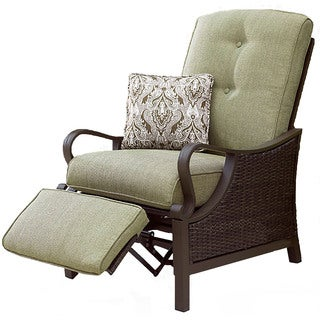 Hanover Outdoor VENTURAREC Ventura Vintage Meadow Luxury Recliner