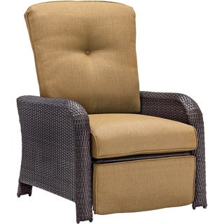 Hanover Outdoor Strathmere Country Cork Luxury Recliner