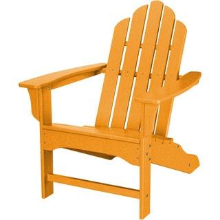 Hanover Outdoor HVLNA10TA Tangerine All-weather Contoured Adirondack Chair
