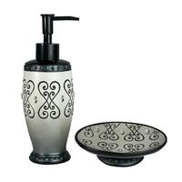 Sherry Kline Abingdon 2-piece Bath Accessory Set