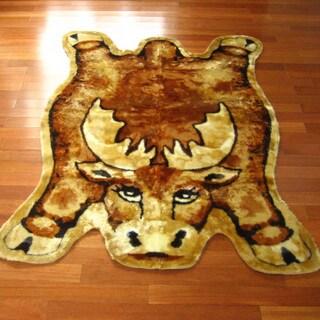 Moose Playmat Rug (3'3 x 4'7)