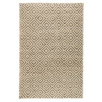 Kosas Home Handwoven Kali Jute Grey and Bleached Rug (8' x 10') - 8' x 10'