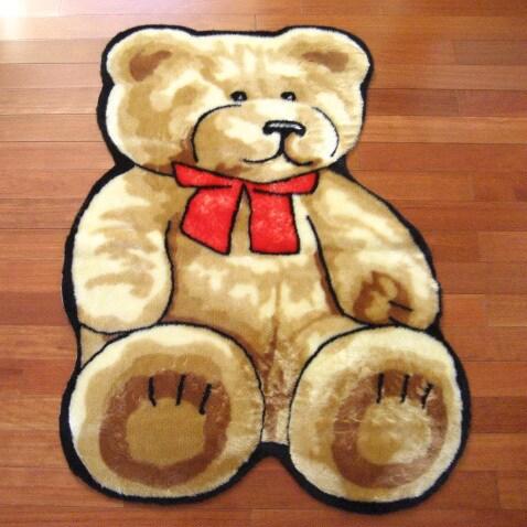 Classic Teddy Bear Playmat Rug - 4'7 x 6'7