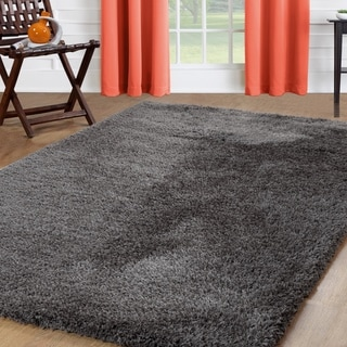 Affinity Home Solid Shag Area Rug (5'x8')