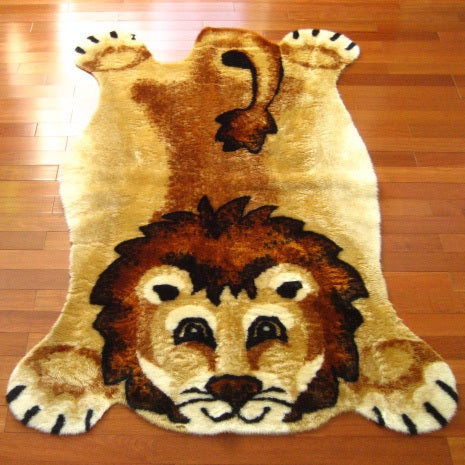 "Lion Antimicrobial Playmat Rug - 4'7"" x 6'7"""
