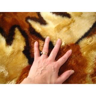 Walk on Me Kids Playmat Animal Faux Fur/ Faux Sheepskin Machine Washable Area Rug
