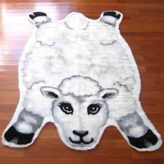 Sheep Playmat Rug (4'7 x 6'7)