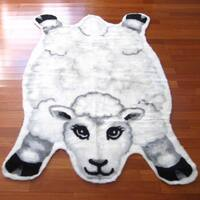 "Sheep Playmat Rug - 4'7"" x 6'7"""