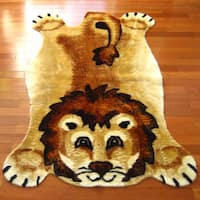 "Lion Playmat Rug - 2'3"" x 3'7"""