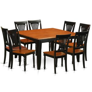 PFPL9 BCH W Wooden 8 Chair 9 Piece Dining Room Set