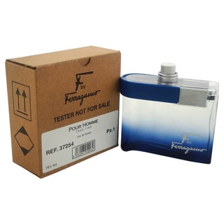Salvatore Ferragamo F Ferragamo Free Time Men's 3.4-ounce Eau de Toilette Spray (Tester)