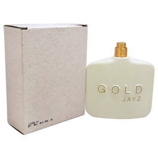 Jay Z Gold Men's 3-ounce Eau de Toilette Spray (Tester)