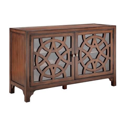 Mulan Chestnut Bar Cabinet