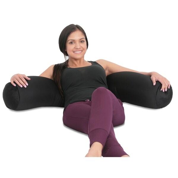 Mooshi Squishy Microbead Body Pillow - Hypoallergenic Bean Bag Pillow