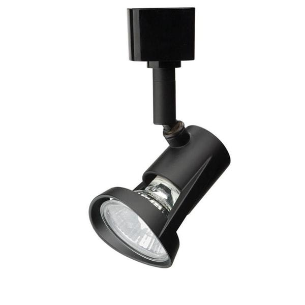 Lithonia Lighting LTHFLT MR16GU10 DBL M4 Black Aluminum Front-loading Track Head