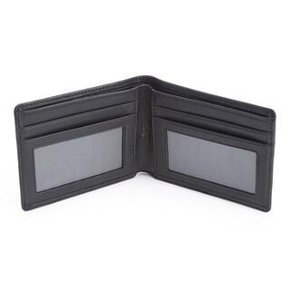 Royce Leather Genuine Leather RFID Blocking Bifold Credit Card Wallet