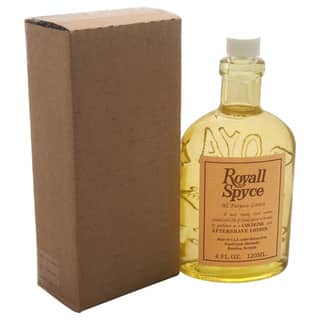 Royall Spyce Men's 4-ounce Lotion Splash (Tester)|https://ak1.ostkcdn.com/images/products/12022067/P18896809.jpg?impolicy=medium