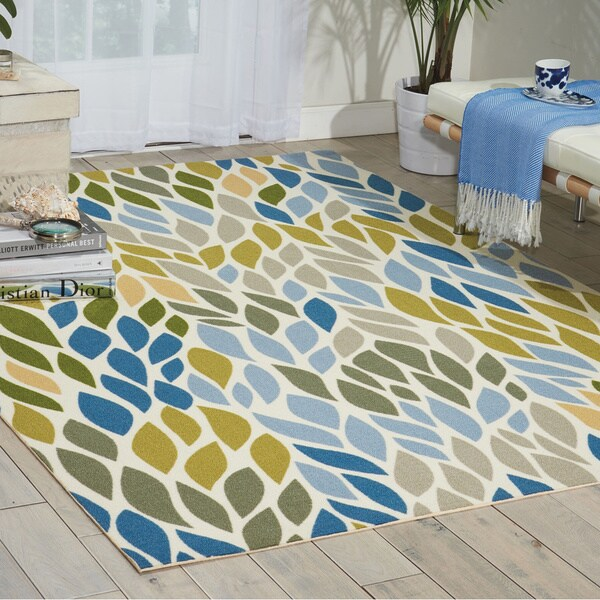 Nourison Home and Garden Multicolor Rug - 10' x 13'