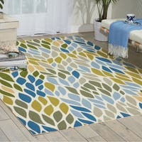 Nourison Home and Garden Multicolor Rug - 10' x 13'