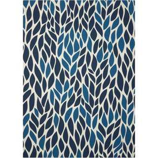 Nourison Home and Garden Blue Rug (10' x 13')