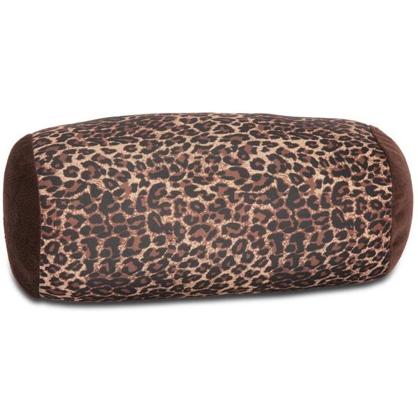 Squishy Mooshi Mini Microbead Neck Roll Pillow - Clear