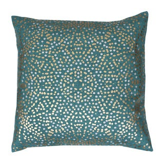 Thro by Marlo Lorenz Dotted Feather-filled Throw Pillow