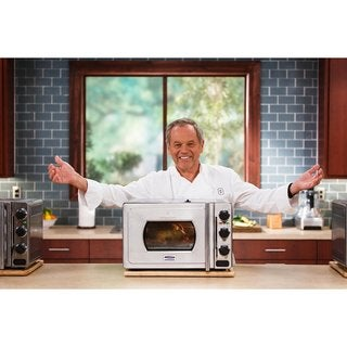 Wolfgang Puck Pressure Oven Original Stainless Steel 29-liter Countertop Oven