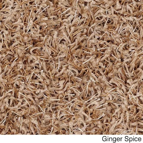 Shaw Bling Collection Super Shag Area Rug