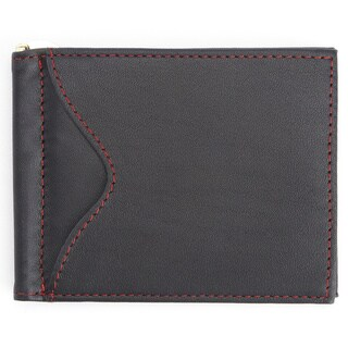 Royce Leather Slim Men's Money Clip Credit Card Wallet