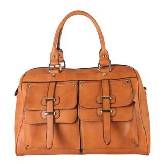 Rimen & Co. Top Handle Zipper-closure Casual Satchel Handbag