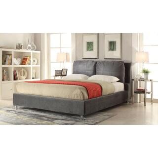 Bywilde Dark Olive Gray Fabric Queen Bed (1Set/3Ctn)