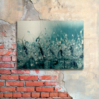 Beata Czyzowska Young 'Under the Sea' Floating Brushed Aluminum Art
