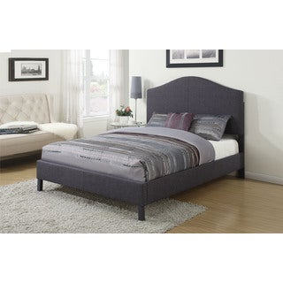 Clyde Grey Linen Eastern King Bed
