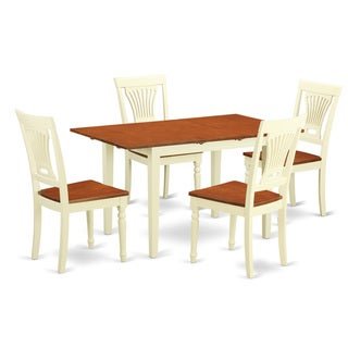 NOPL5-WHI-W 5-piece Kitchen Dinette Set