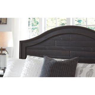 Signature Design by Ashley Sharlowe Charcoal Panel Headboard