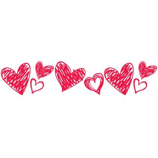 PLUS Hearts Deco Roller Refill