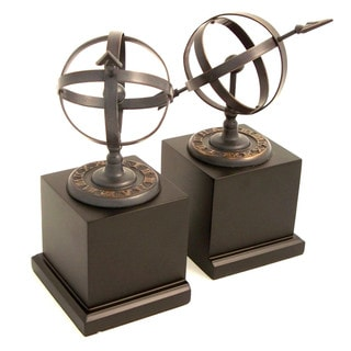 Bey Berk Cast Metal Sundial Bookends