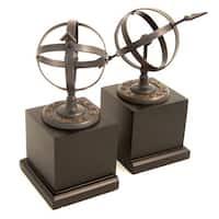 Bey Berk Cast Metal Sundial Bookends