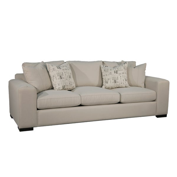 Florence Off White Upholstered Sofa