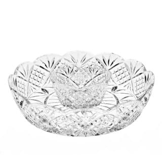 Godinger Dublin Crystal Large Chip-n-dip Set|https://ak1.ostkcdn.com/images/products/12022418/P18897087.jpg?impolicy=medium